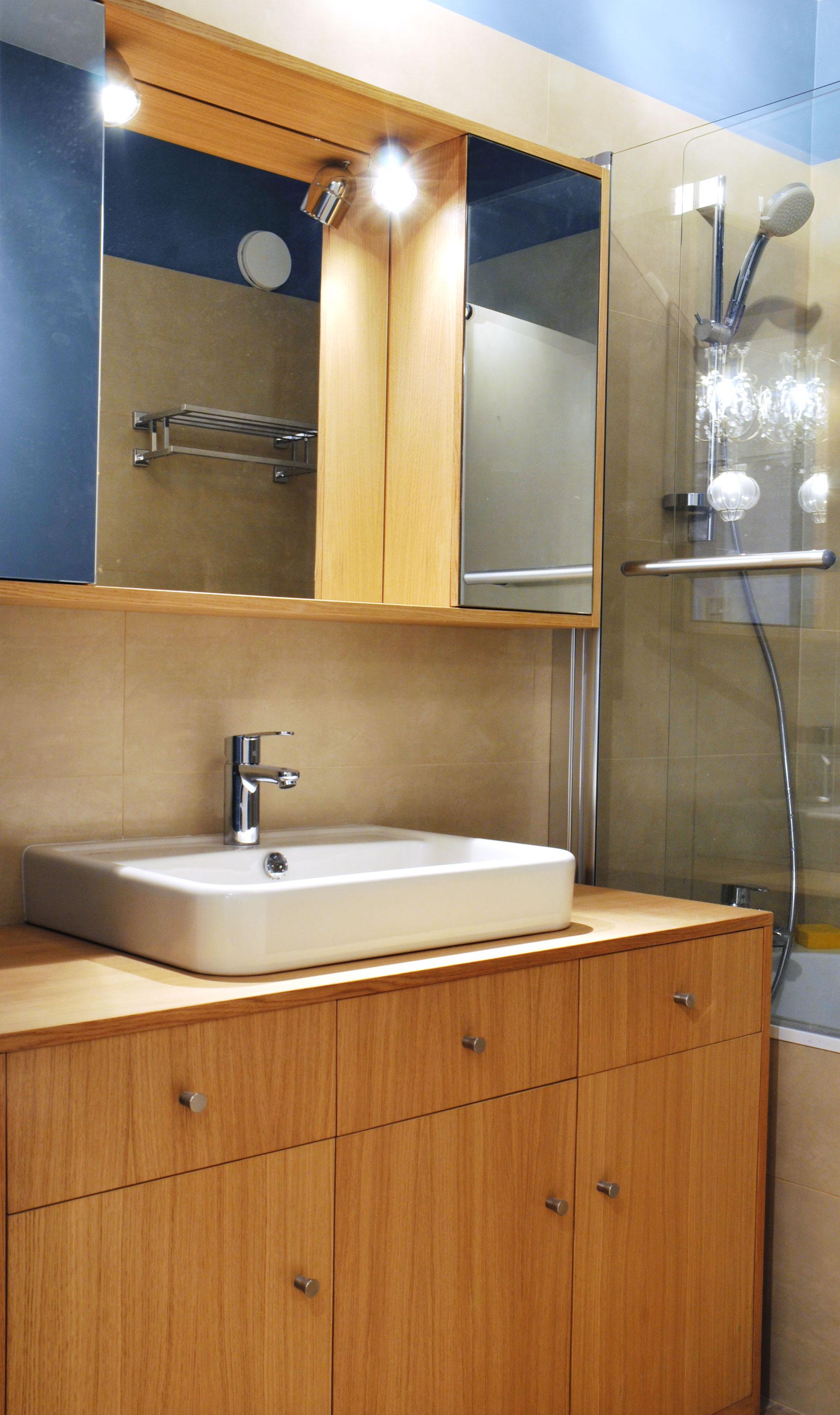 meuble de salle de bains bois d 39 iris. Black Bedroom Furniture Sets. Home Design Ideas